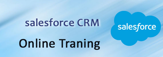 Banner Image with the text salesforce CRM Online training