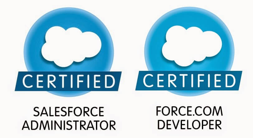 salesforce certification Icons